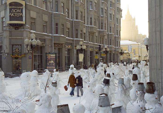 City of snowmen