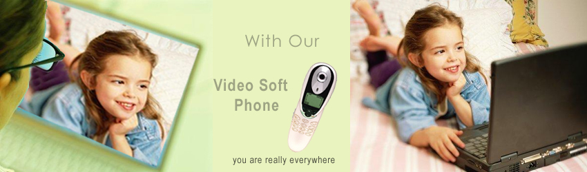 Softphone video